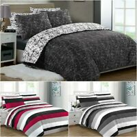 Print Duvet Cover Set 200 Thread Count 100% Cotton Double King Size Bedding Sets