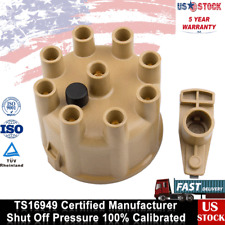 Ignition Distributor Cap w/Rotor Set For Chevy PONTIAC GMC BUICK 87-95 5.7L