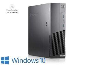 Lenovo Desktop Computer Quad Core i5 4th Gen Windows 10 PC 16GB 512GB SSD Wifi