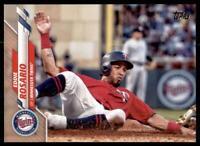 2020 Topps Series 2 Base Gold #483 Eddie Rosario /2020 - Minnesota Twins