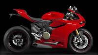 Fairing Kit Bodywork For Ducati 1199 Panigale Red Motorcycle Fairings Plastic