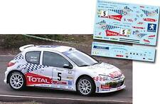 Decal 1:43 Joan Vinyes - PEUGEOT 206 S1600 - Rally El Corte Ingles 2004