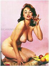Bonnie Logan nude model woman girl big busty topless breasts photo woman print