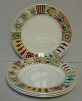 Churchill (for Pier One) VEGETABLE PATCH Dinner Plates SETS OF FOUR More Here