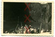 KREUZER EMDEN - orig. Foto, Sognefjord, Balholm, Auslandsreise 1938, Norway