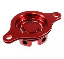 Apico Oil Filter Cover HONDA CRF450R 09-16 RED