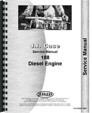 Case 188D Engine Service Repair Manual
