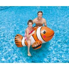New BlueWave Products Toys & Floats Nt2690 Giant Clown Fish Ride-On