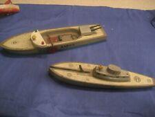 Vintage Keystone Wooden U S Submarine Sea Raider Ship 1940'S ? Explodes Ship