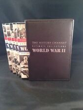 The History Channel Ultimate Collections World War II ( 5DVDs, Leather Case)