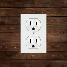 Three Prong Outlet Decal/Sticker