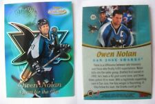 1999-00 Topps Gold Label QC8 Nolan Owen 1/1 quest for the cup 1 of 1 Sharks