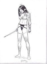 BILLY TUCCI'S SHI - ANA ISHIKAWA BY MICHAEL GOLDEN, REBECCA BUCHMAN COMMISSION Comic Art