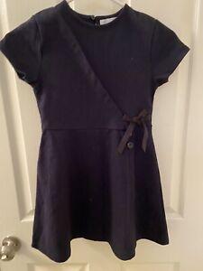 Zara Kids Navy Blue and Black Dress Girls Size 9 Years NWT