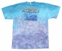 Bruce Springsteen Summer Tour 2003 Tie Dye T Shirt New Official Liquid Blue NOS