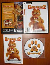 Garfield 2 [PC CD-ROM] Asobo Studio, Versión Española, ¡¡COMPLETO!!