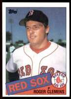 1985 Topps Roger Clemens Boston Red Sox #181
