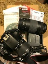 Canon EOS Rebel T3 12.2MP Digital SLR Camera Kit with Extra Lens