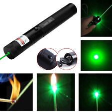 More details for 1x powerful military 532nm 303 green laser pointer pen green beam charger uk