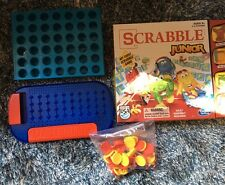 Children's Games Connect 4 Mastermind Scrabble Junior