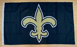 New Orleans Saints 3x5 ft Flag Banner NFL Fleur De Lis