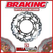 WK001L+WK001R COPPIA DISCHI FRENO ANTERIORE DX + SX BRAKING MOTO GUZZI GRISO 850