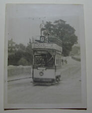 ENG1512 - c1928 PLYMOUTH CORPORATION TRAMWAYS - Tram No95 Photo