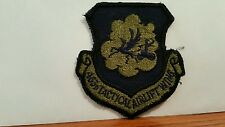 USAF 363rd Tactical Airlift Wing Subdued Patch. 3 x 3 inches