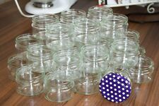 Marmeladenglas 24 Stück Einmachgläser  Sturzgläser 0,2 L Glas +Deckel 24x200ml