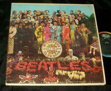 Beatles Sgt Peppers Lonely Hearts Club LP 1st MONO MAS-2653 A Little error label
