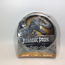 Jurassic Park III (Blu-ray, DVD, Digital HD Includes Storage Tin