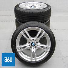 "NEW GENUINE BMW 3 4 SERIES 18"" 400 M SPORT ALLOY WHEELS BRIDGESTONE TYRES TPMS"