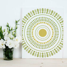 Funky Wheel Craft Stencil - Size SMALL - By Cutting Edge Stencils