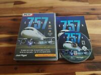 757 CAPTAIN PC DVD Rom Game Add-On Flight Simulator Sim X or 2004 FS2004 FSX FS