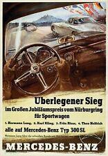 German Mercedes BenzCar Racing Championship 1939  Poster