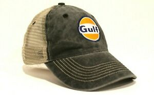 New Gulf Gasoline Trucker Hat Baseball Cap Gas Station Racing Oil Petroleum Race