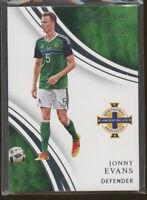 2018-19 Immaculate Soccer JONNY EVANS 55/75 #59