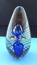 Impressive Large Art Glass Paperweight Beautiful Complex Design