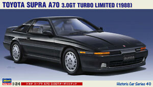 Hasegawa HC-40 1/24 Scale Model Car Kit Toyota Supra A70 3.0GT Turbo Limited '88