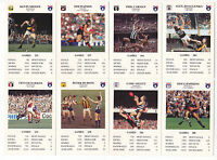AFL VFL Spears Great Football Card Game - CHOOSE A TEAM SET - NR MINT CONDITION