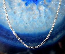 feine Glieder Kette Sterling Silber 925 45 cm Silberkette