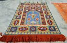 Authentic Hand Knotted France Kilim Kilm Area Rug 4 x 3 Ft (10001 KBN)