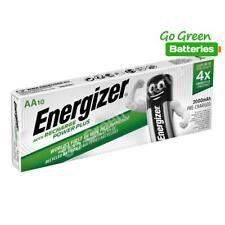10 x Energizer AA 2000 mAh Rechargeable Power Plus Batteries NiMH HR6 MN1500 RTU