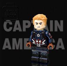 **New**LYL BRICK Custom Avengers 4 Captain America Lego Minifigure