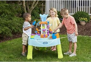 Little Tikes Flowin Fun Water Table with 13 Interchangeable Pipes