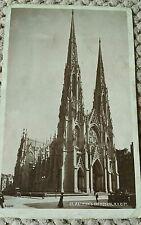 VINTAGE AMERICAN POSTCARD ST. PATRICK'S CATHEDRAL, N.Y. CITY. 1909