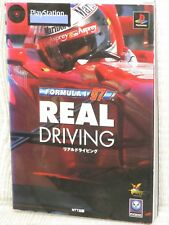 FORMULA 1 ONE 97 Real Driving Guide PS Book NT35