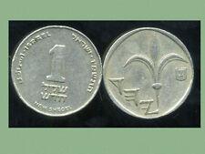ISRAEL 1 new sheqel  1986  ( bis )