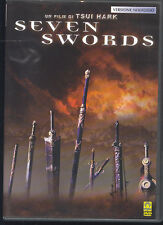 SEVEN SWORDS - DVD (USATO EX RENTAL)