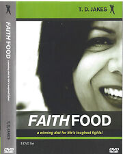 Faith Food A winning diet for Life's toughest fights ! 5 Dvd T. D. Jakes - Sale!
